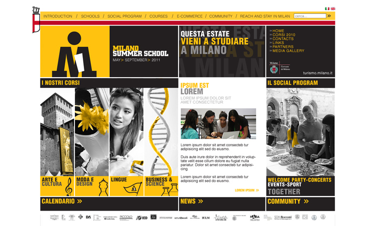 Milano Summer School Home page